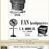 1943 E.N Mimms Floor Table Fan