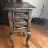 Antique Wooden End Table