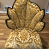 Antique Chairs with Leaf Design