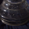 Antique Kerosene Glass Lamp