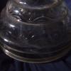 Antique Kerosene Glass Lamp