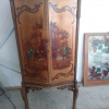 Hand painted antique cabinet