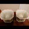 Qianlong porcelain flower pots