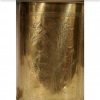 Fredrick Cooper brass canister lamps