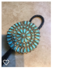 Zuni turquoise neck tie