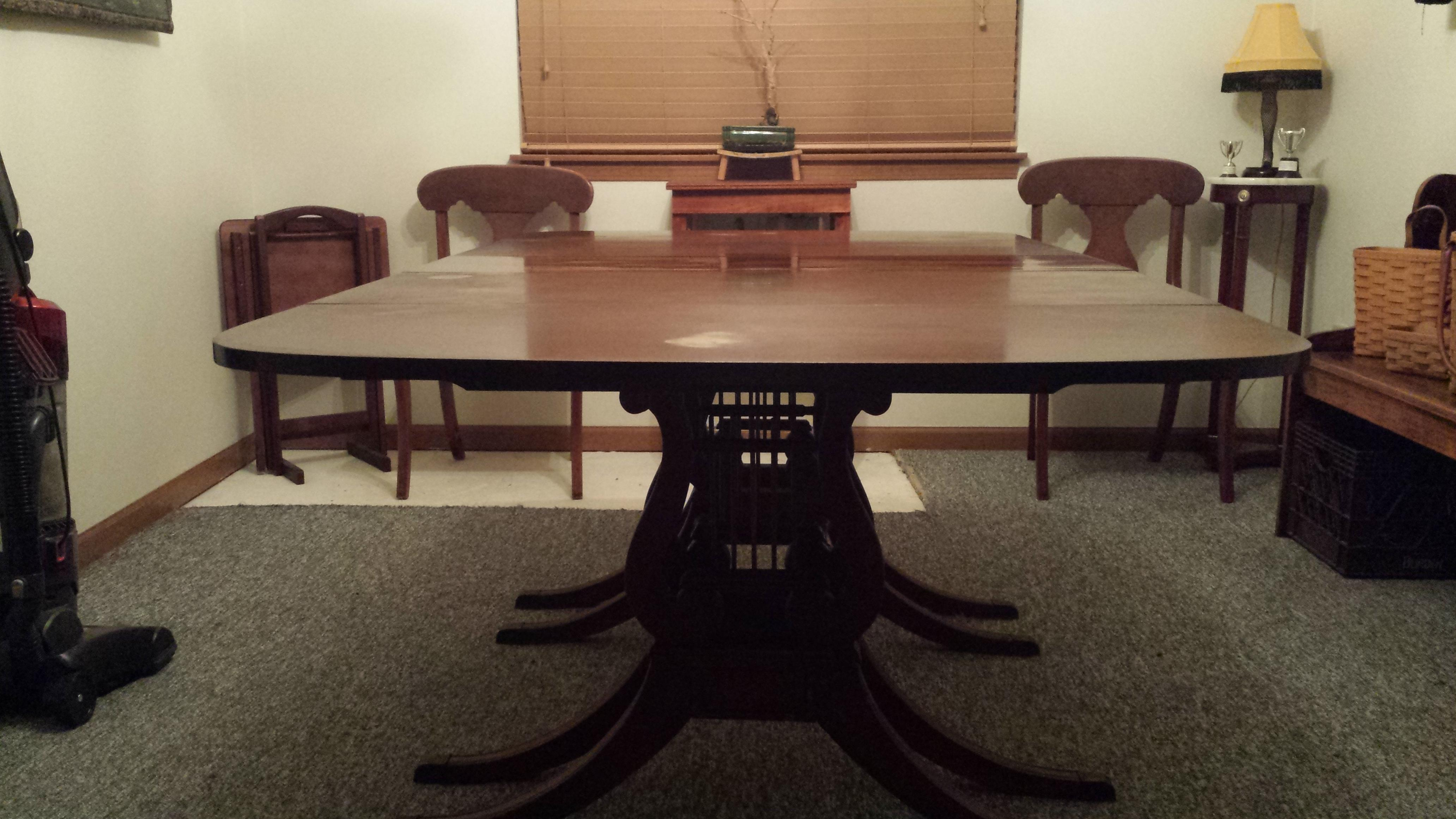 Drexel Dining Room Table and Chairs appraisal