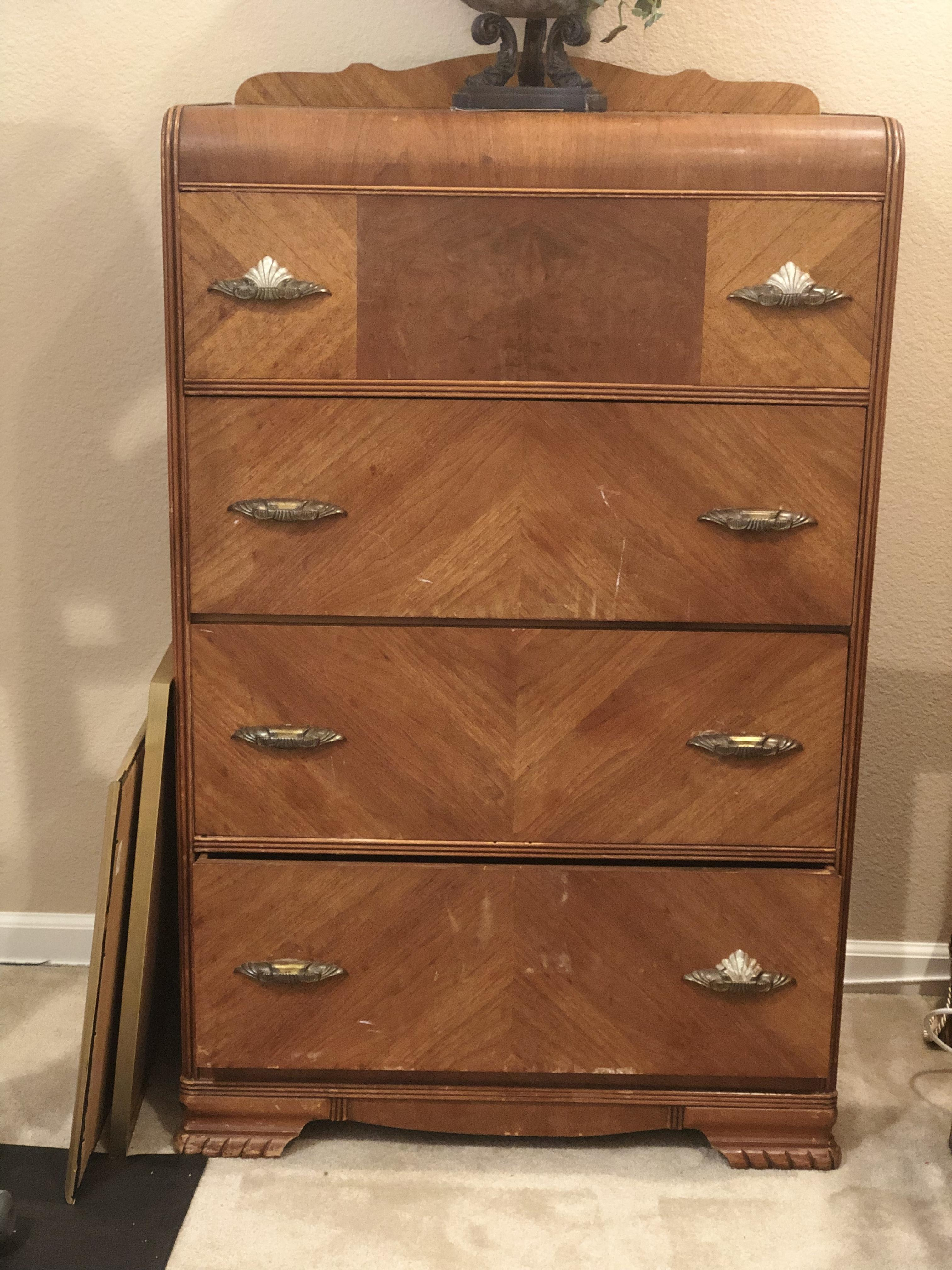 Art Deco Waterfall-Style Dresser appraisal