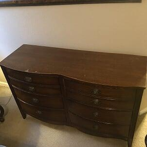 Mahoney Chest of Drawers appraisal