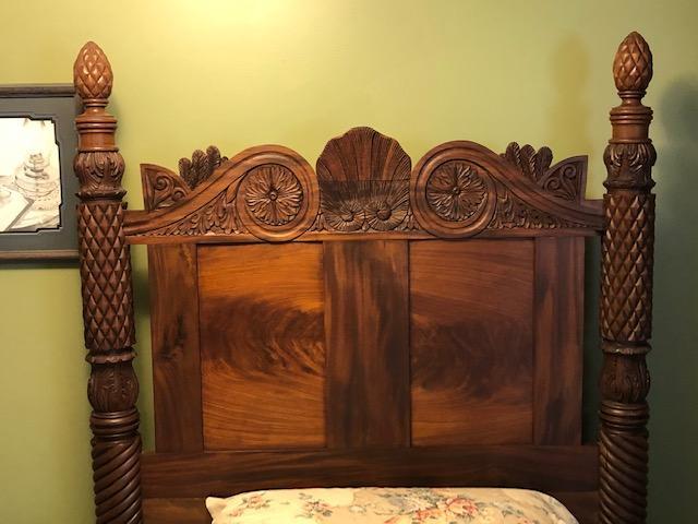 Antique Bed 1700s'-1800s' appraisal