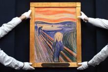 """Edvard Munch, """"The Scream"""" Sells For $120 Million image"""