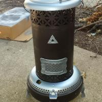 Perfection Smokeless Oil Heater Model 330 Antique