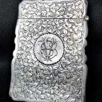 Front side has engraved letters ESV.