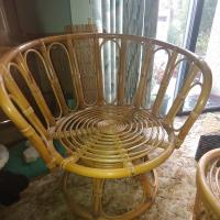 Vintage Rattan, Wicker, Bamboo, Chair