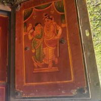 Open right side, Rukmini & Krishna