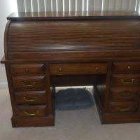 Ordinaire Jasper Roll Top Desk