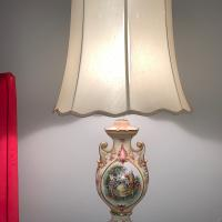 Attractive bed side table lamp.
