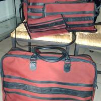 Yves St Laurent 4-pc luggage set