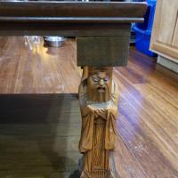 Japanese engraved table legs