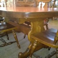 dining room set - temple stuart brand antique appraisal