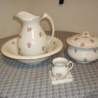 Edwin M. Knowles Pitcher and Basin Set