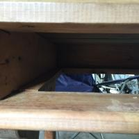 Inside of drawer pocket
