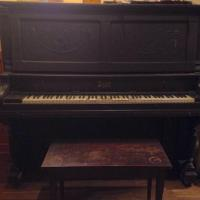 Weaver upright piano