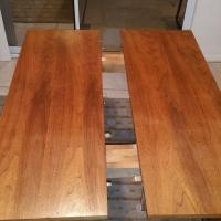 Mid Century Drop leaf Danish style dining table walter of ...