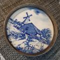 Gorham Sterling Silver and Ceramic trivet/ tray